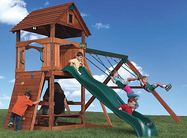 Playground Equipment Dehne Lawn Leisure Inc - Backyard playground equipment